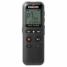 """Philips Voice Tracer Audio Recorder Notes Recording Dvt1150 - 4 Gb - 1.3"""" Lcd -"""
