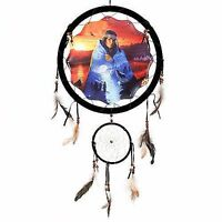 13 Indian Maiden Sunset Dream Catcher Wall Hang Decor Feathers Gift Pretty 1376