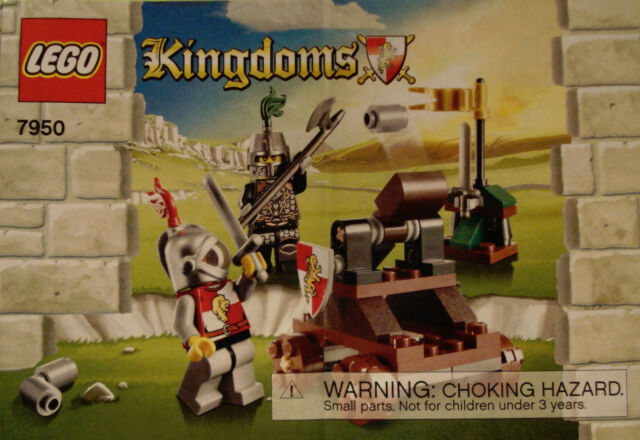 Lego Castle Kingdoms Set 7950 1 Knights Showdown 100 Complete