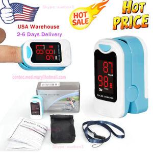 Finger-Pulse-Oximeter-Fingertip-Blood-Oxygen-Meter-SPO2-Heart-Rate-Monitor-Pouch