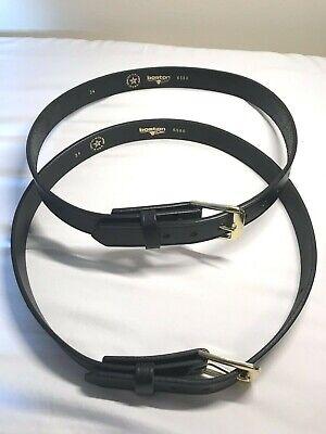 """Boston Leather 6591 B Brass Buckle 1 3//4/"""" for Garrison Belt"""