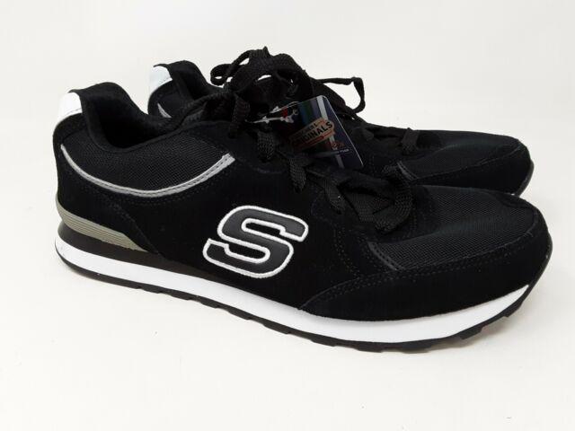 New! Men's Skechers Original Retros OG 82 Fashion Sneaker 52300 Black B26