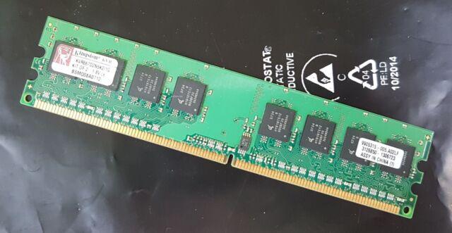 Kingston KVR667D2N5K2/1G (1GB, PC2-5300 (DDR2-667), DDR2 SDRAM, 667 MHz, DIMM