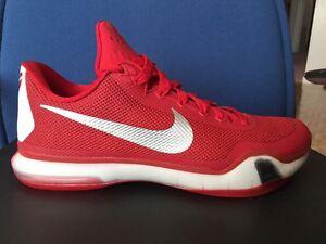 quality design d0715 1b4d6 Image is loading Nike-Kobe-10-X-TB-GYM-RED-iD-