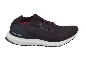 d1e58a19919d6 Image is loading Mens-Adidas-UltraBOOST-Uncaged-BY2552-Black-Maroon