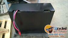 12 85 13 Forklift Battery 24 Volt Refurbished With Core Credit Warranty