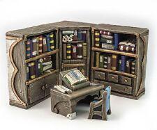 Librarian reading corner- D&D, Mordheim, dungeon terrain, dwarven forge, scenery