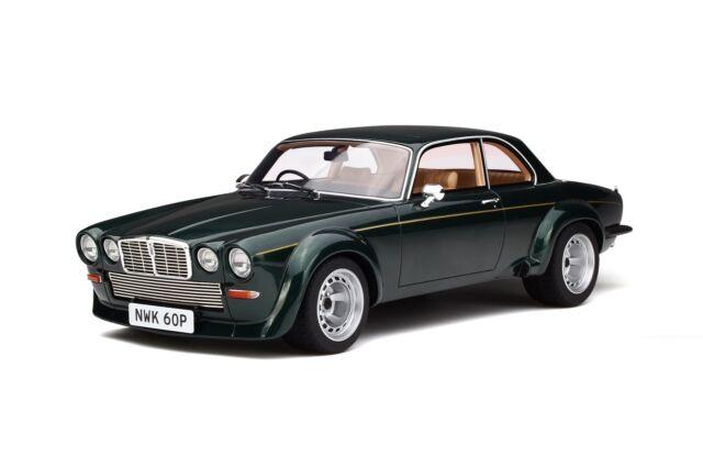"""1:18 GT Spirit GT135 Jaguar XJ12 Coupe Broadspeed """"The New Avengers"""" Green"""