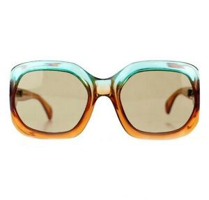 70s NOS DS Deadstock PIAVE vintage sunglasses butterfly oversized made in France