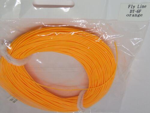DT-6-F double taper fly line hi vis orange