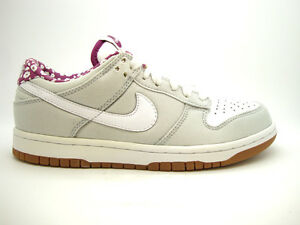 best loved d7734 64916 Details about [317815-011] NIKE DUNK LOW CL WMNS WOMENS SHOES NEUTRAL  GREY/WHITE-LOGAN BERRY.