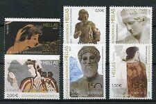 Greece 2017 MNH Athens Natl Archaeological Museum 6v Set Art Sculptures Stamps