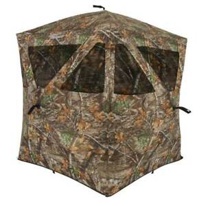 Ameristep Care Taker 66x55x55 Polyester Realtree Camouflage Ground Blind (Used)