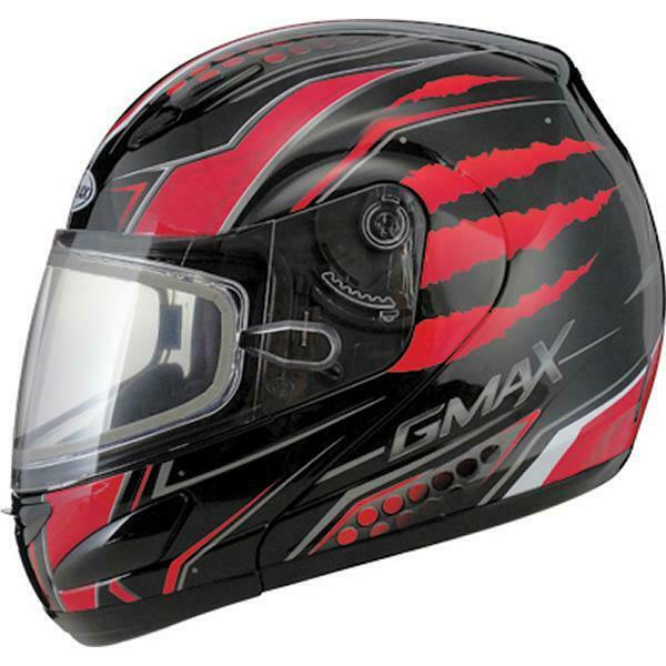 GMax GM17 SPC Outer Flip Tint Lens for Full Face Helmet Shield with Holes Smoke