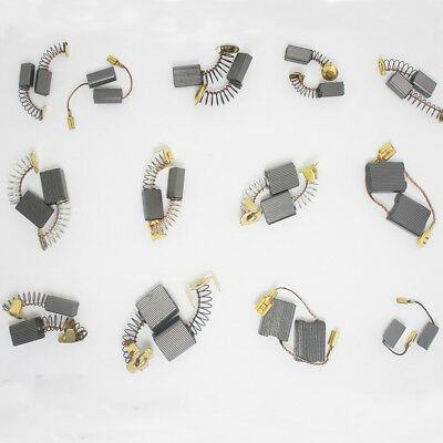 CARBON BRUSHES for Generic Electric Motor Replacement Power Tool 5X8X12mm 2pcs ^