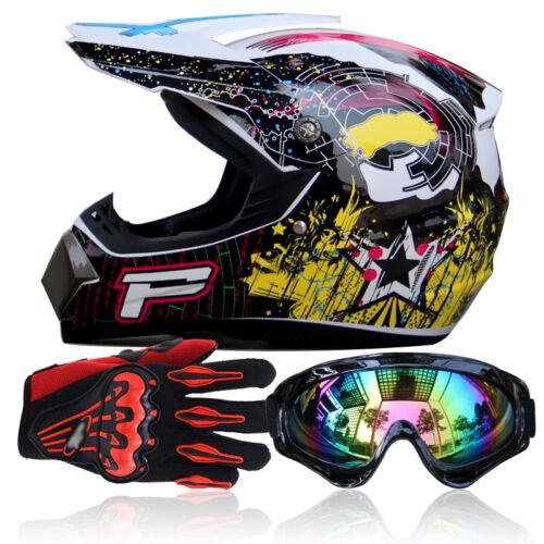 Casco integrale da cross Motocross Safe Gear S-XL Casco integrale da gara UDW