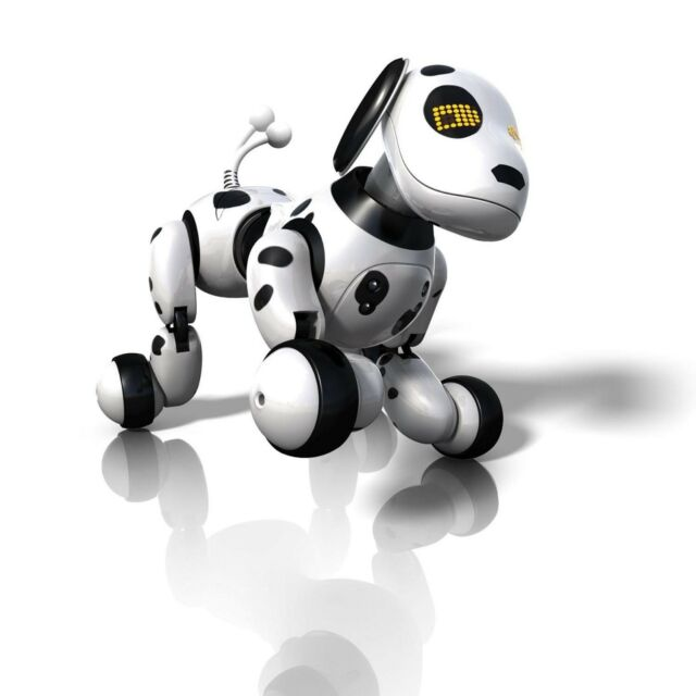 New ZOOMER Dalmatian Robot Electronic Dog, Zoomie Toy - WOW 2013 Spin Master