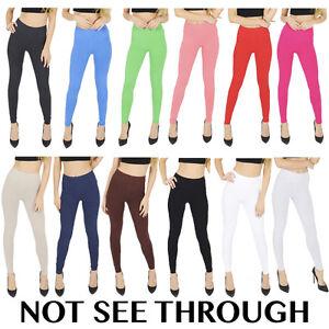 Haut-femme-pleine-longueur-leggings-coton-plus-taille-8-10-12-14-16-18-20-22-24-26-28-30