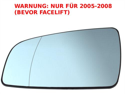OPEL ZAFIRA B 05-08 vetro specchio riscaldabile sinistra