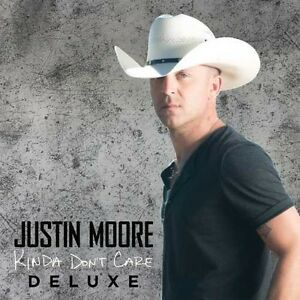 Justin-Moore-Kinda-Don-039-t-Care-New-CD-Deluxe-Edition