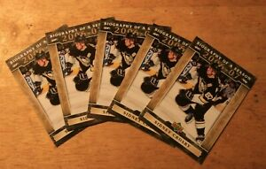 Sidney Crosby 2006-07 Biography of a Season Lot of 5 cards