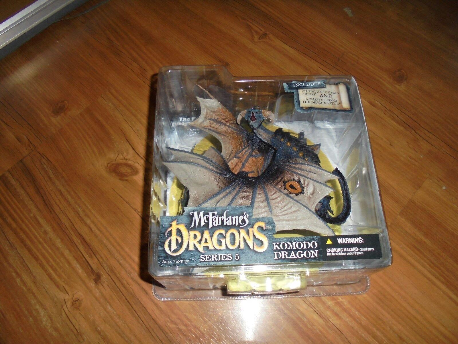 McFarlane's Dragons The Fall Of The Dragon Dragon Dragon Kingdom Series5  KOMODO DRAGON  2006 a8d117