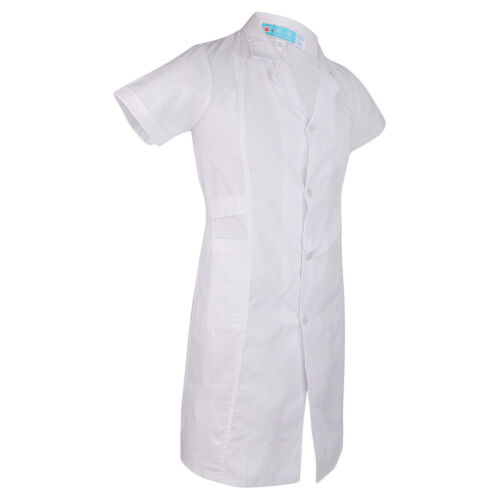 Damen Herren Laborkittel Arztkittel Arzt Kostüm Apotheker Mantel Kittel