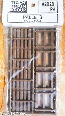 NIB O Tichy #2020 Pallets 8 pieces