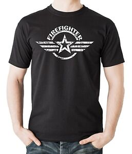 Firefighter-T-Shirt-Gift-For-Firefighter-Profession-Occupation-Tee-Shirt