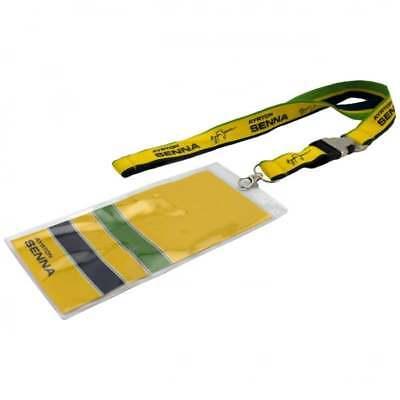 Ayrton Senna Lanyard and Ticket Holder