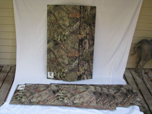 Camo Kamo Mossy Oak-Country Breakup pattern Panels Wall covering Blind material