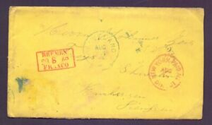 Incoming-Mail-Umschlag-aus-New-York-ueber-Bremen-nach-Hessen-1869-835