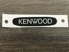 Kenwood B43 1178 04 B43 1178 14 Name Plate Tk 2170 3170 3173 New Oem