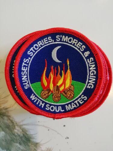 Fun Campfire Badge Guiding Scouting Guides Rangers Brownies Rainbows Cubs Beaver