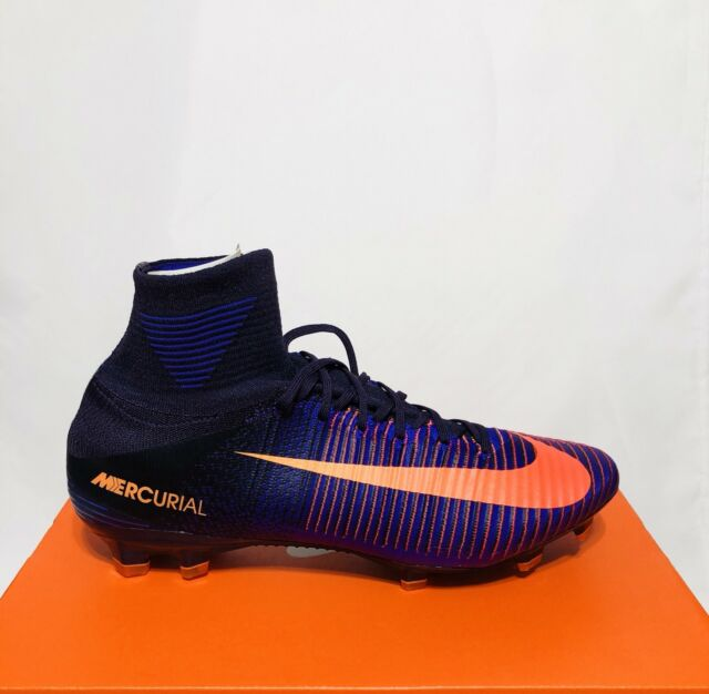 best authentic 2e18e 12b1c NIKE MERCURIAL SUPERFLY V FG Purple Dynasty Bright Citrus (831940-585)  NEW