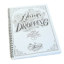 Name Dropping Tattoo Flash Design Art Book Sketch By Sir Twice