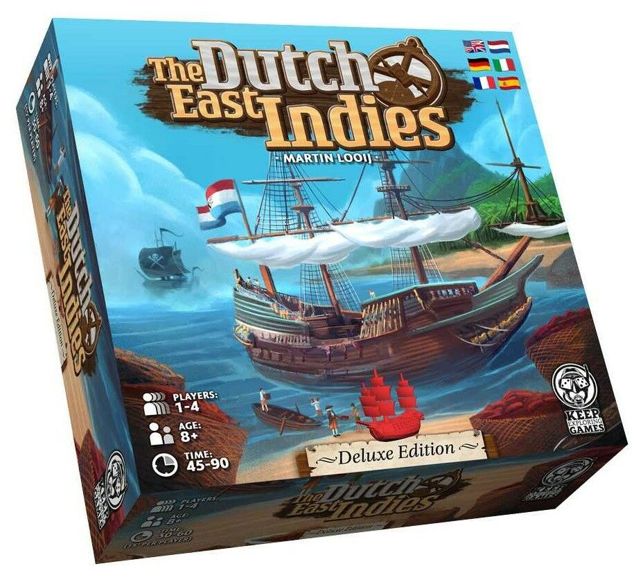 The Dutch East Indies-Deluxe Edition  Keep Exploring Games 00202-Neuf