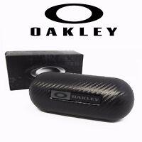 Oakley Large Carbon Fiber Hard Case Sunglasses Eyeglasses Case 07-257