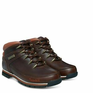 Timberland-6831R-Euro-Sprint-Mens-Leather-Hikers-Hiking-Boots-Dark-Brown-Size