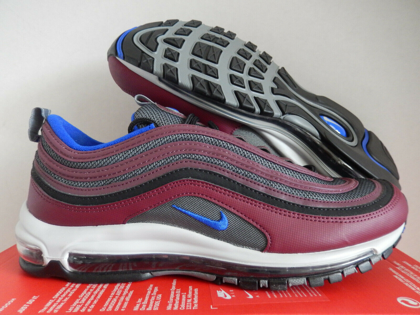 20ef3926a9 MAX 97 COOL GREY-RACER blueE SZ 12 [921826-012] AIR NIKE  neihtb2379-Athletic Shoes