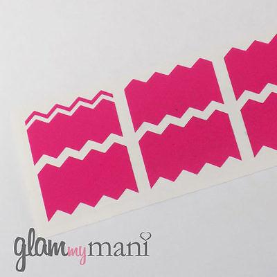 Mini Chevron Nail Vinyl Nail Stickers Designs DIY Nail Art 160 Count