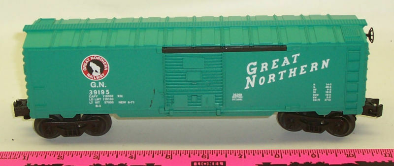 New Lionel 36269 Great Northern Boxcar