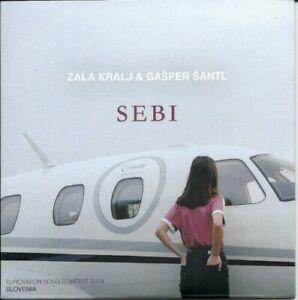 2021 Eurovision - Slovenia 2019. Sebi - Zara Kralj & Gašper Šantl. (Promo CD's)