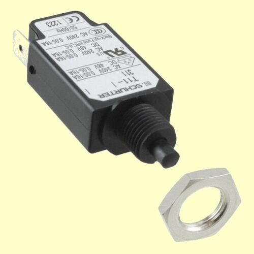 PC dispositivi Schurter Interruttore Di Protezione Circuit Breaker t11-311-2a 4400.0193 #bp 1