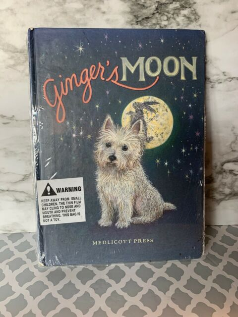 GINGER'S MOON By Judythe Sieck - Hardcover Book Very Good Condition,