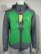 Mountain Hardwear Dry.Q  Waterproof Snowboard Jacket Gray/Green size XL