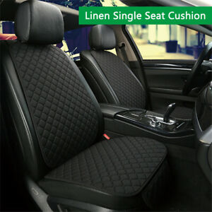Fine-Linen-Breathable-Seat-Cover-Cushion-Single-Front-Seat-Universal-For-Car-SUV