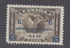 Canada C4 Mint Hinged - Ottawa Conference 1932 6c on 5c, Decimal, George V 1910