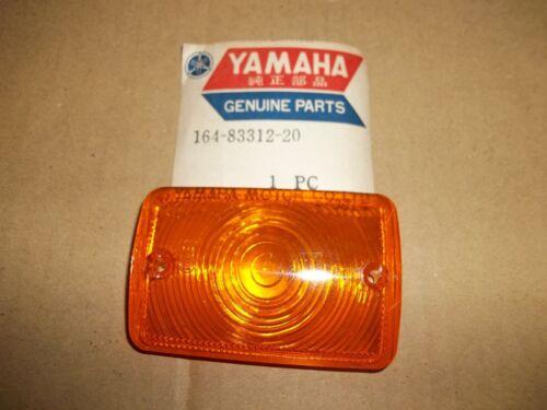 YAMAHA YL2 NOS OEM  LIGHT FLASHER ASSEMBLY LENS TURN SIGNAL LENS 164-83312-20-00