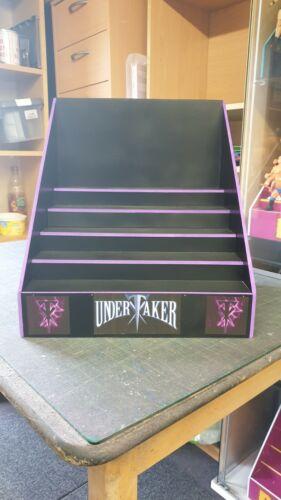 Wwe Custom Made The Undertaker Theme Wrestling Figure Riser Display For Detolf